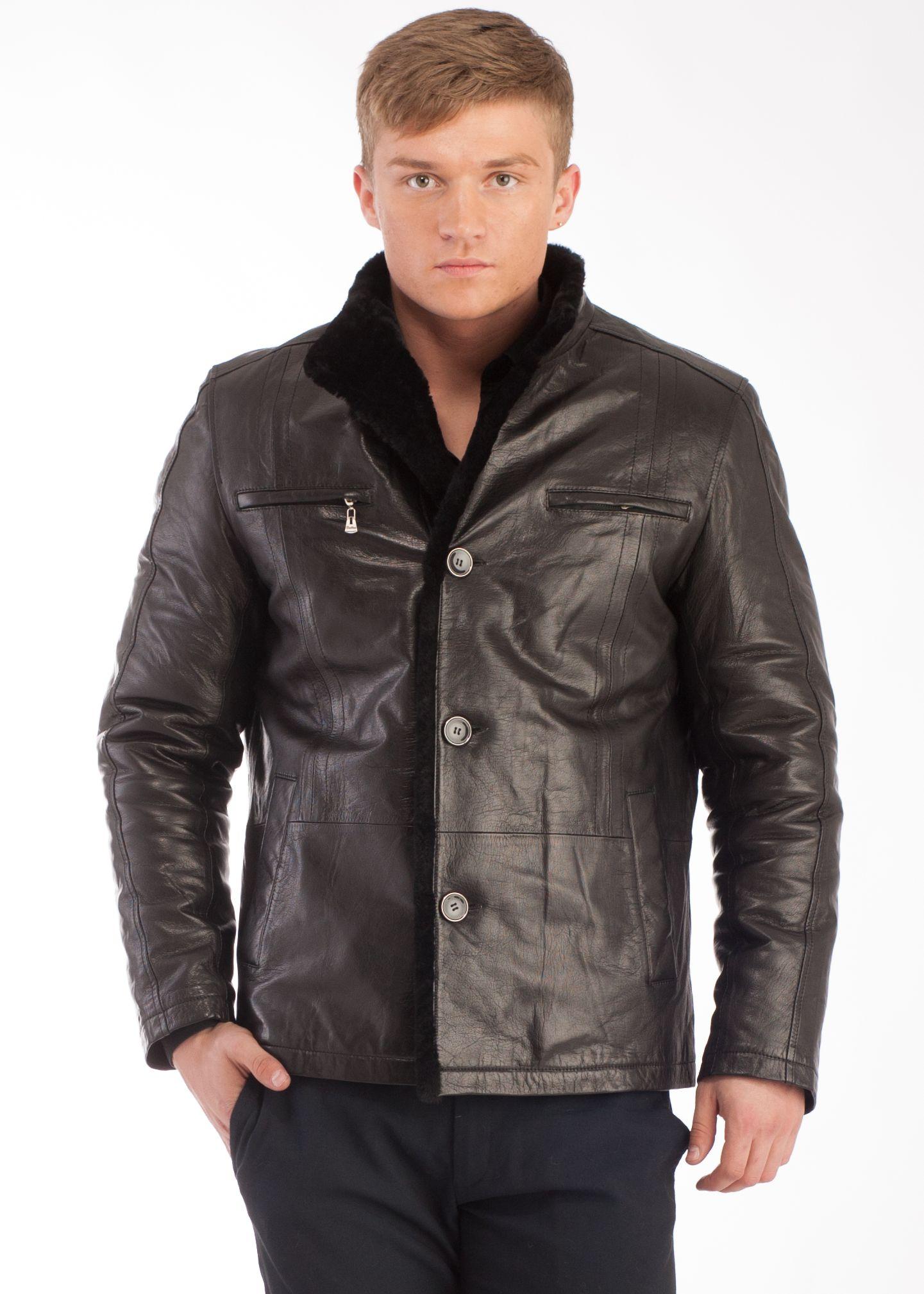 Купить Мужскую Куртку Из Мутона