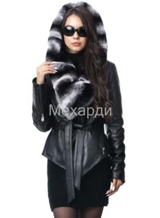 Модные женские кожаные куртки и плащи  ee8b49864a83f